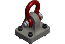 """Corky"""" Container Lifting Lug — Caldwell Group Lifting Solutions"""